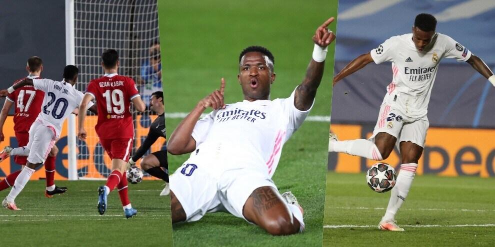 Real Madrid-Liverpool è lo show di Vinicius: doppietta a Klopp!
