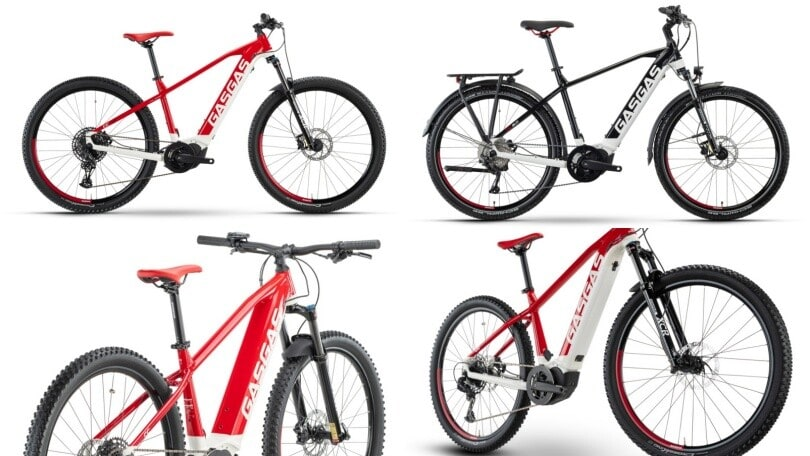 Gas Gas: la nuova gamma di e-Bike 2021
