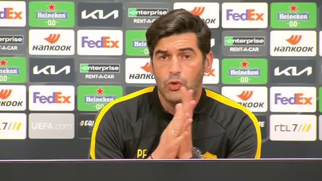 "Fonseca: ""Dzeko? Lo vedo bene. Ajax fortissima, servirà la partita perfetta"""