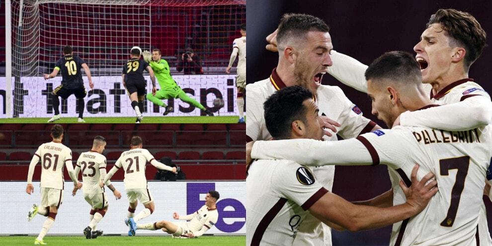Super Roma! Pau Lopez salva, Pellegrini e Ibanez ribaltano l'Ajax