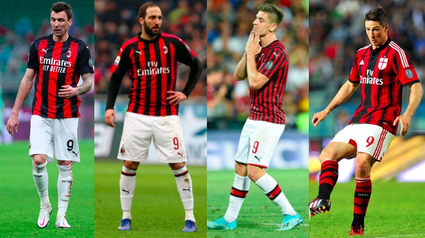 Milan, la maledizione del '9' continua: colpito anche Mandzukic