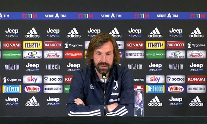 """Pirlo: """"Voglio vedere lo stesso atteggiamento messo contro il Napoli"""""""
