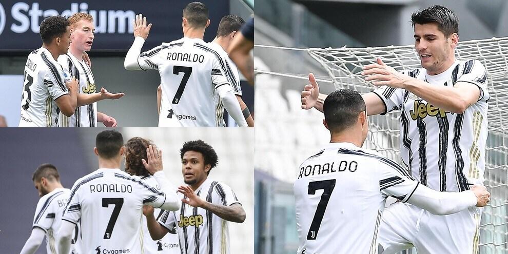 Kulusevski-Morata-McKennie: la Juve non stecca, che tris al Genoa