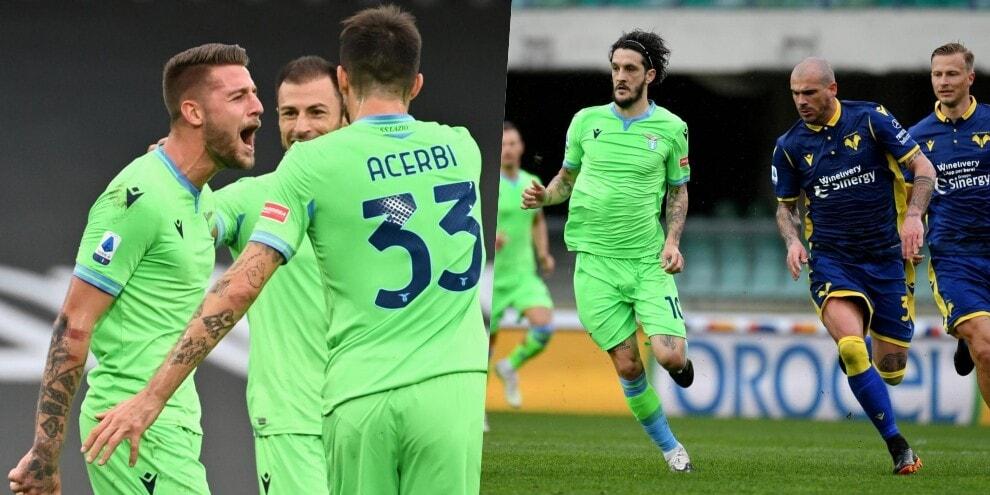La Lazio vince con il Sergente Milinkovic: 1-0 al Verona