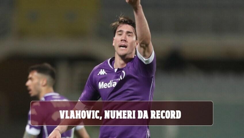 Vlahovic, numeri da record