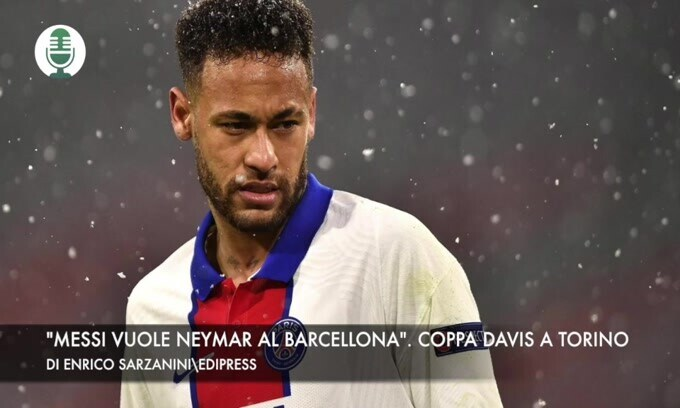 """Messi vuole Neymar al Barcellona"". Torino ospiterà la Coppa Davis"