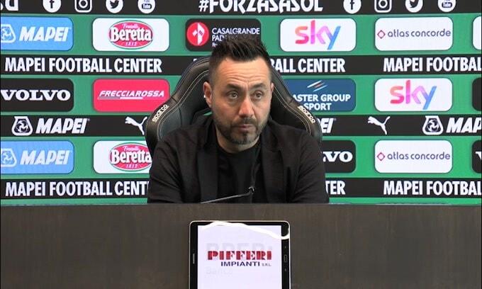 """De Zerbi: """"Il nostro ottavo posto è tanto.."""""""