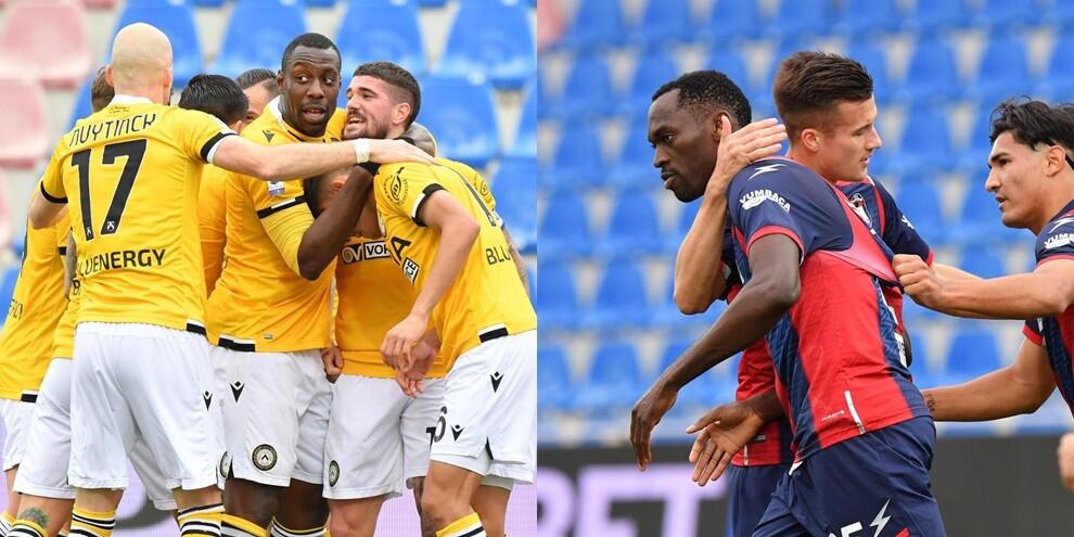 Simy illude il Crotone, la doppietta di De Paul lancia l'Udinese