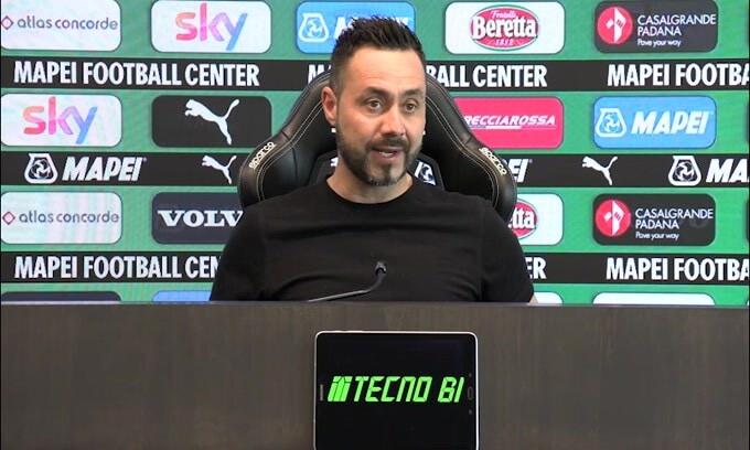 """De Zerbi: """"Non ho piacere a giocare contro il Milan"""""""