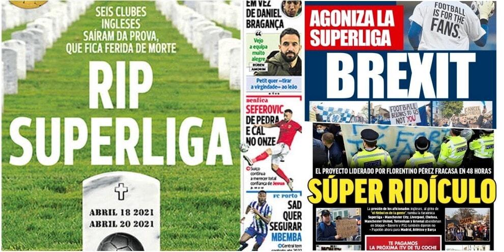 """L'addio alla Superlega sulle prime pagine: """"Vittoria dei tifosi"""""""