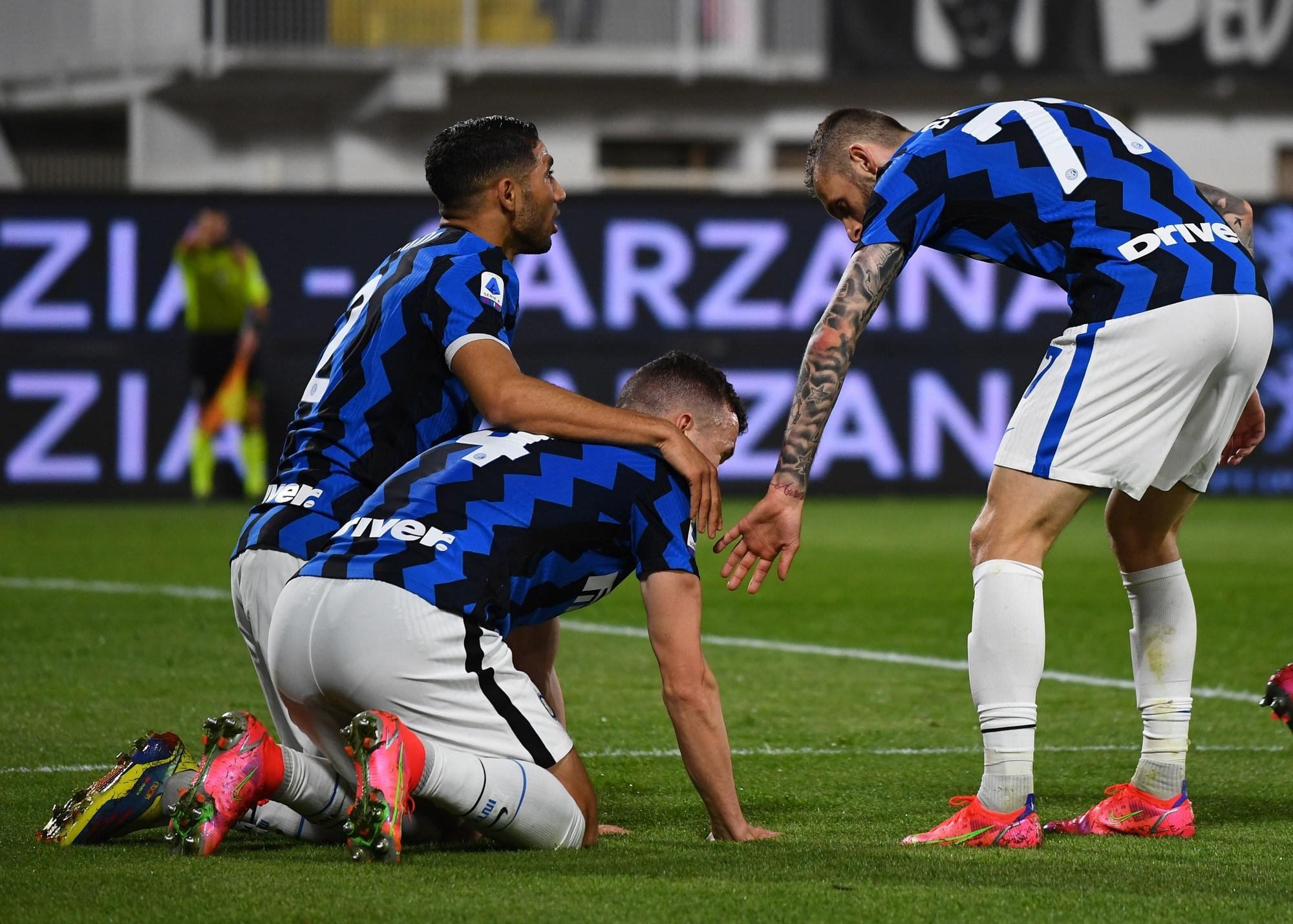 L'Inter ringrazia Perisic, ma frena con lo Spezia: +10 sul Milan