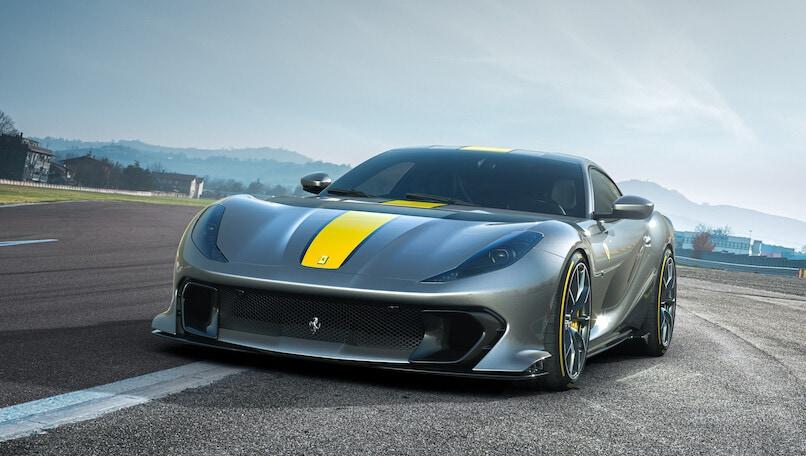 Ferrari 812 Versione Speciale col V12