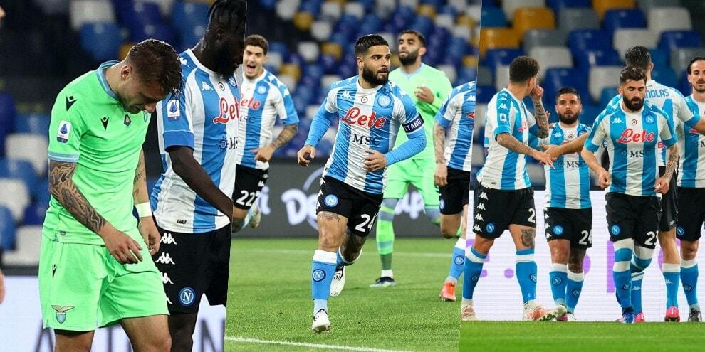 Napoli, tre punti d'oro: Insigne super, Lazio battuta