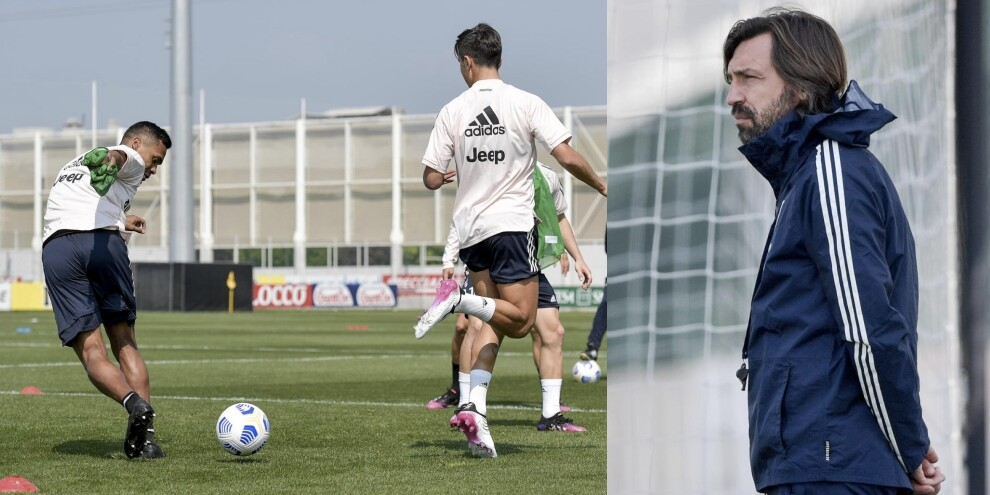 Dybala-Alex Sandro, colpi di classe davanti a Pirlo