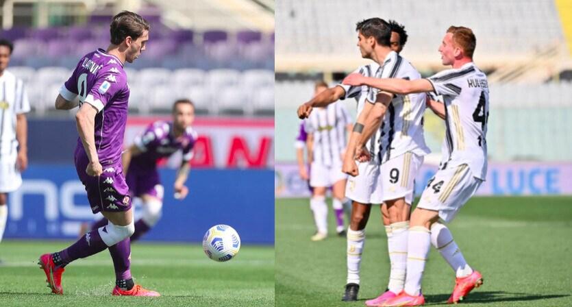 Vlahovic apre, Morata risponde: 1-1 tra Fiorentina e Juve