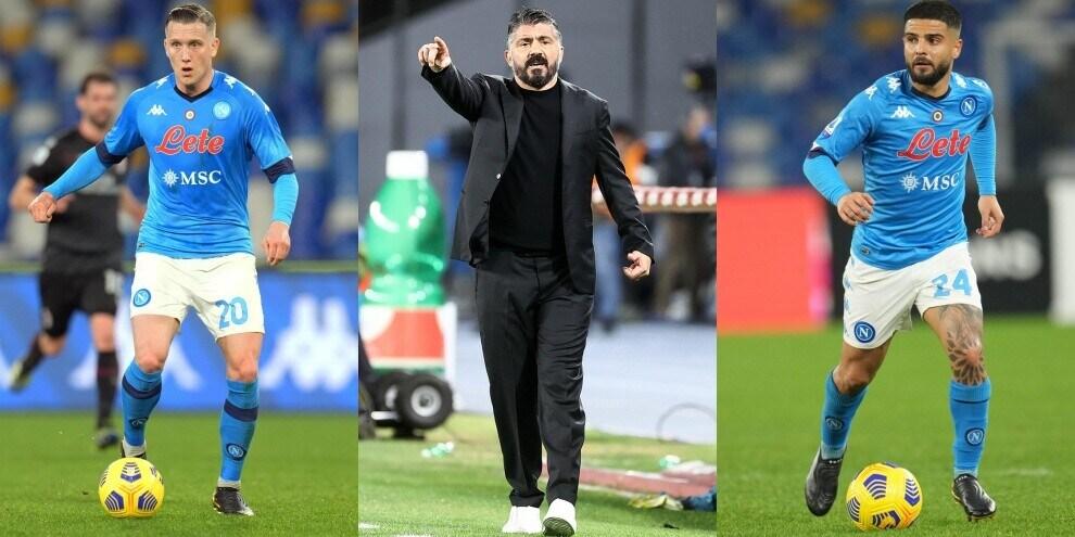 Torino-Napoli: la probabile formazione di Gattuso