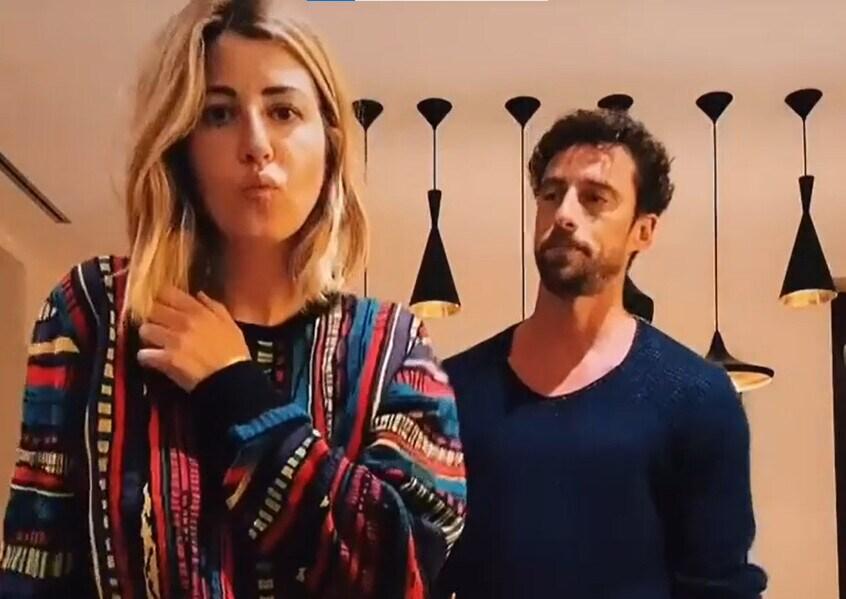 Marchisio e il suo primo tik tok con la moglie