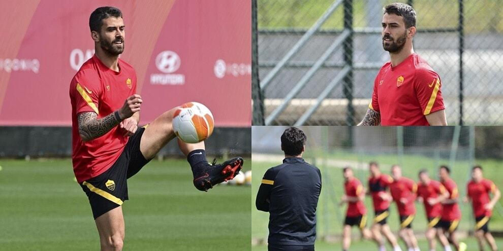 Spinazzola testa i muscoli e si candida per United-Roma
