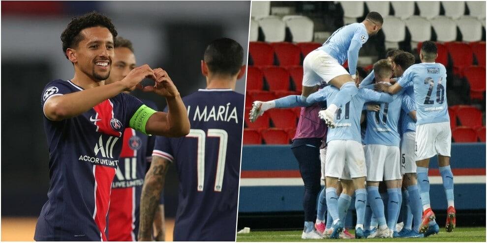 Marquinhos non basta: Psg battuto in casa dal Manchester City