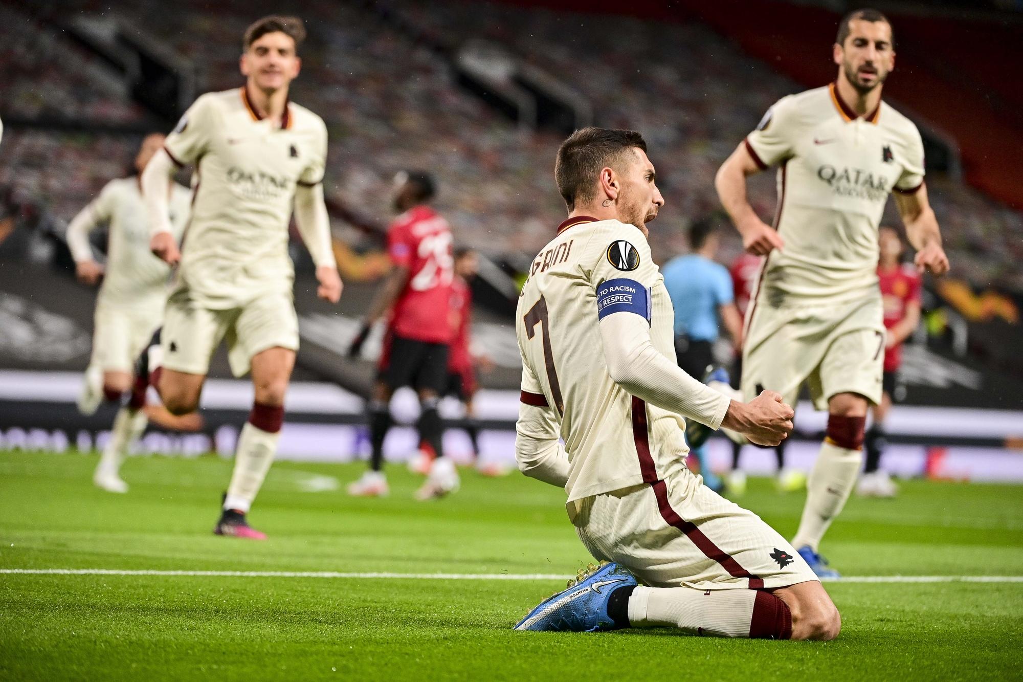 Manchester United-Roma: le foto della sfida di Old Trafford