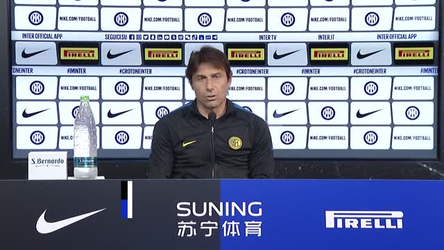 """Inter, Conte: """"Portiamo a termine l'opera d'arte"""""""