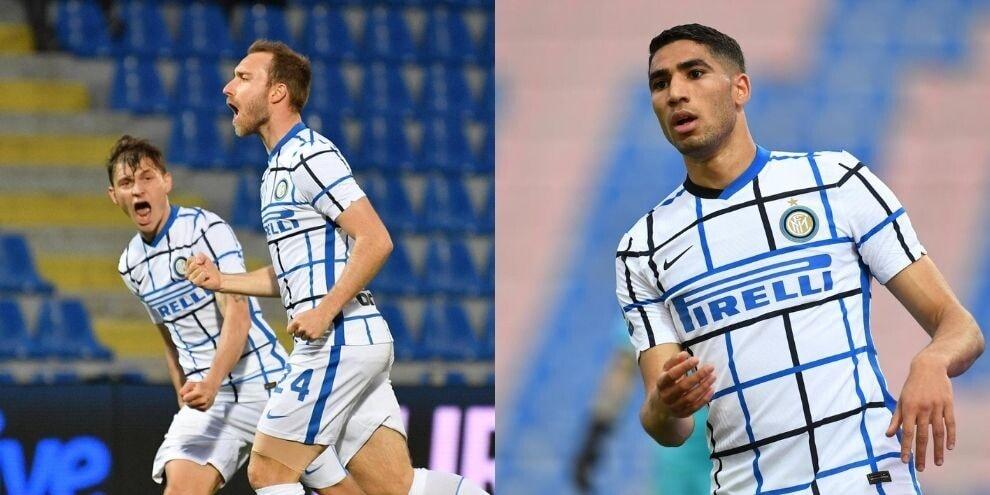Eriksen-Hakimi, Conte vede lo scudetto! L'Inter passa a Crotone