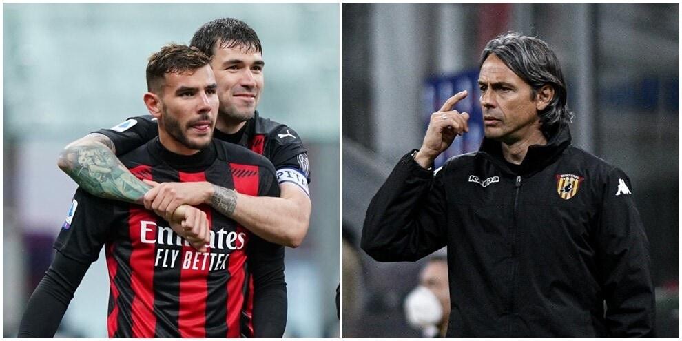 Il Milan si rialza: Calhanoglu e Theo Hernandez piegano il Benevento
