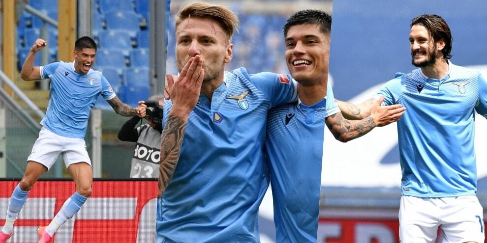 La Lazio nel segno di Correa: Genoa battuto 4-3