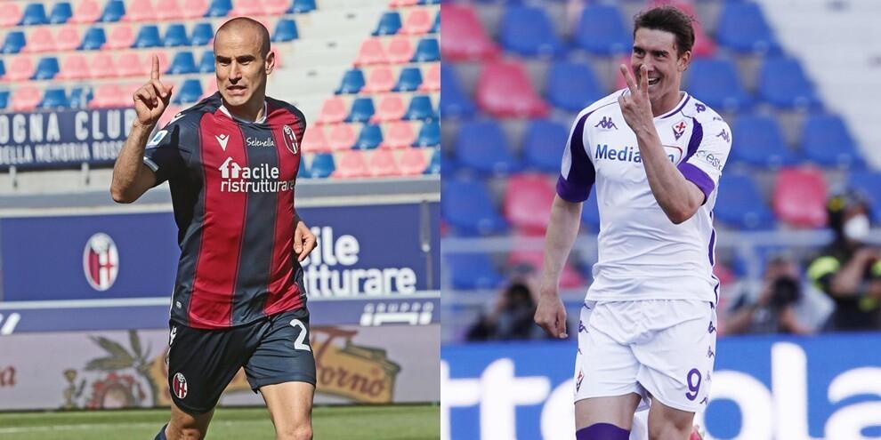 Tripletta di Palacio, Vlahovic show: 3-3 tra Bologna e Fiorentina