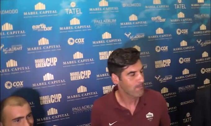 Roma, ufficiale l'addio di Fonseca a fine stagione