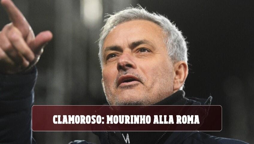 Clamoroso: José Mourinho nuovo allenatore della Roma