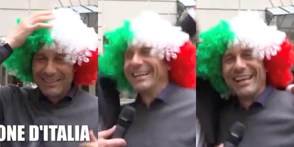 Conte alle Iene con la parrucca tricolore!