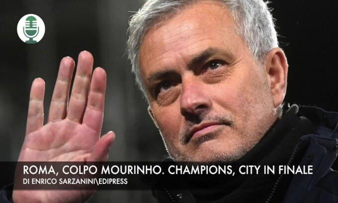 """Mourinho: """"A Roma per vincere"""". Champions, il City vola in finale"""