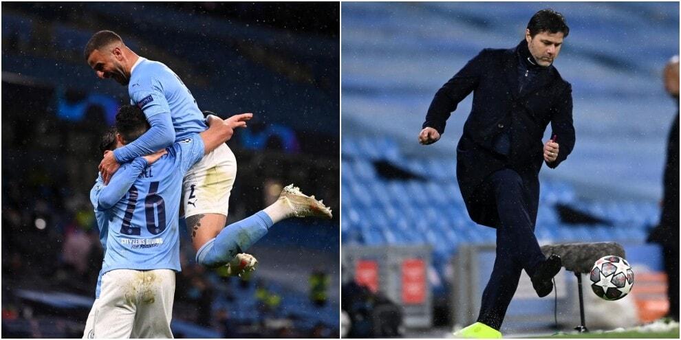 Mahrez show, rabbia Pochettino: Manchester City in finale di Champions