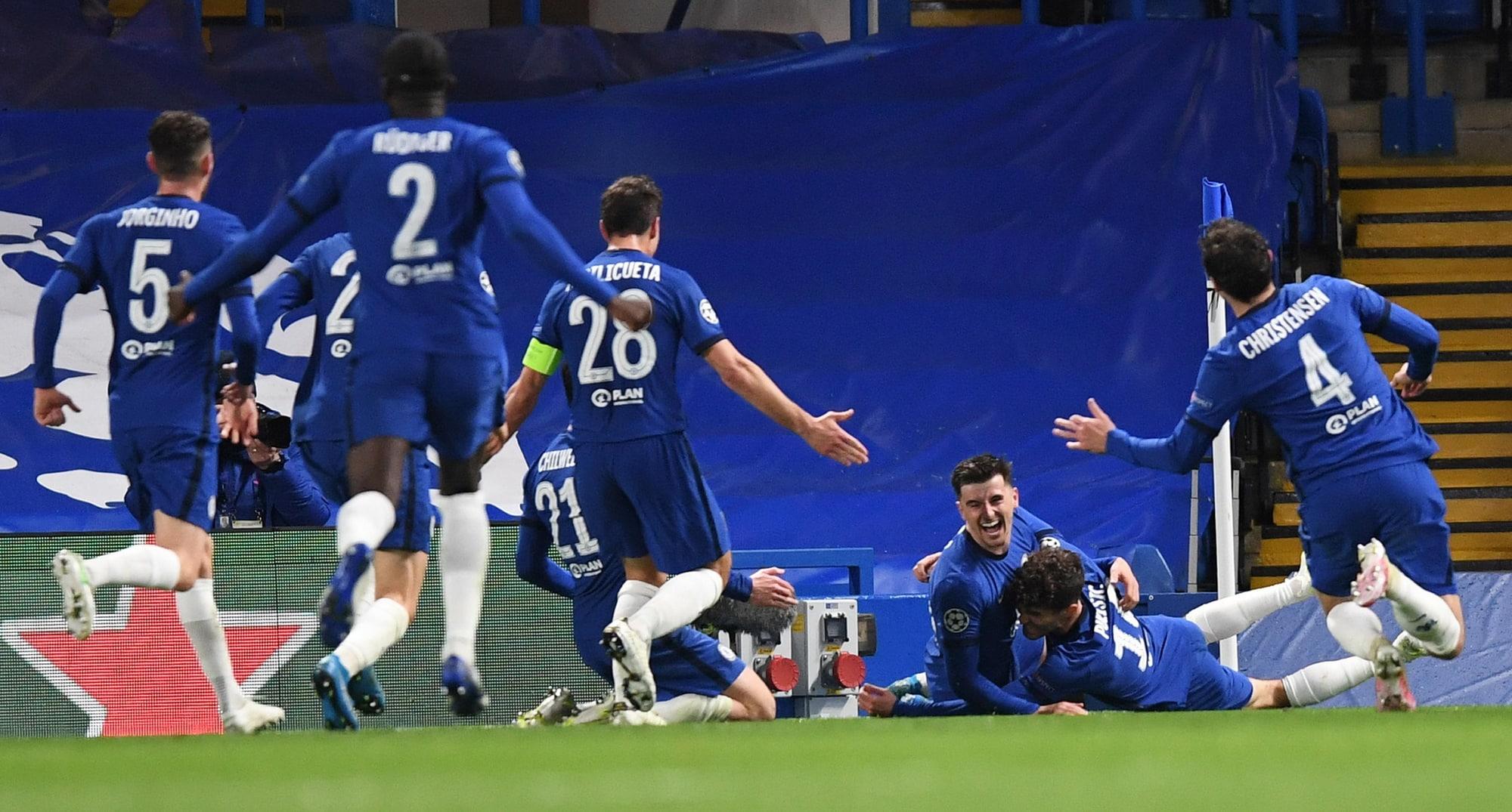 Werner-Mount gol, Real ko! Chelsea in finale, Zidane eliminato