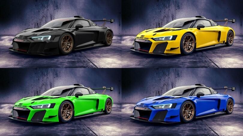 Audi R8 LMS GT2 Color Edition