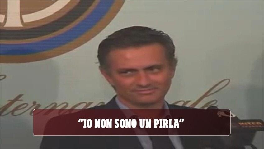 """Mourinho style, le frasi celebri: """"Io non sono pirla"""""""