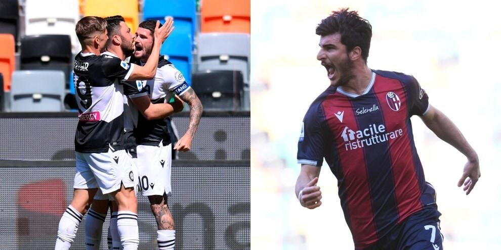 De Paul illude l'Udinese, Orsolini salva il Bologna: 1-1
