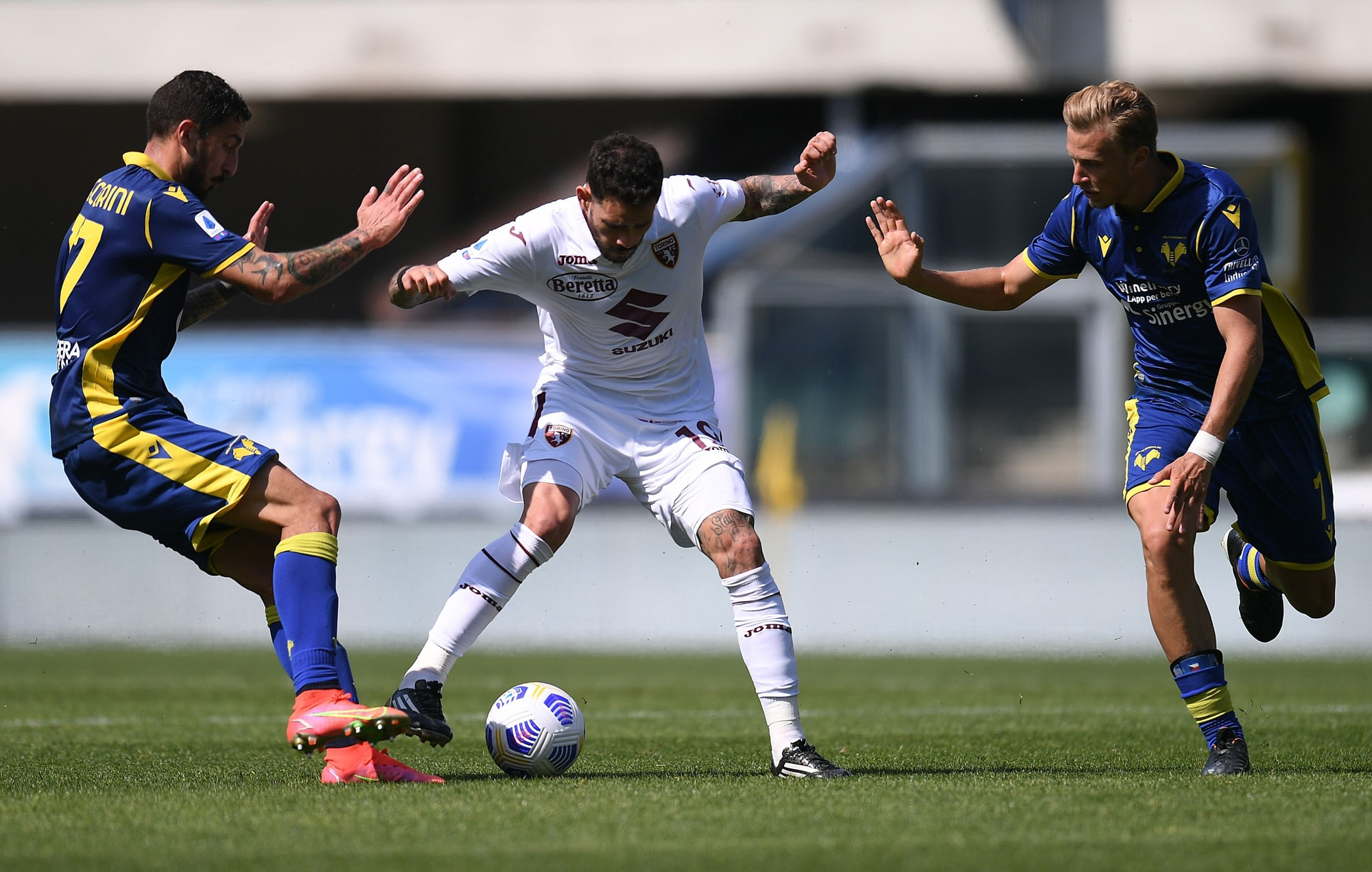 Al Torino non basta Vojvoda, Dimarco firma il pareggio del Verona