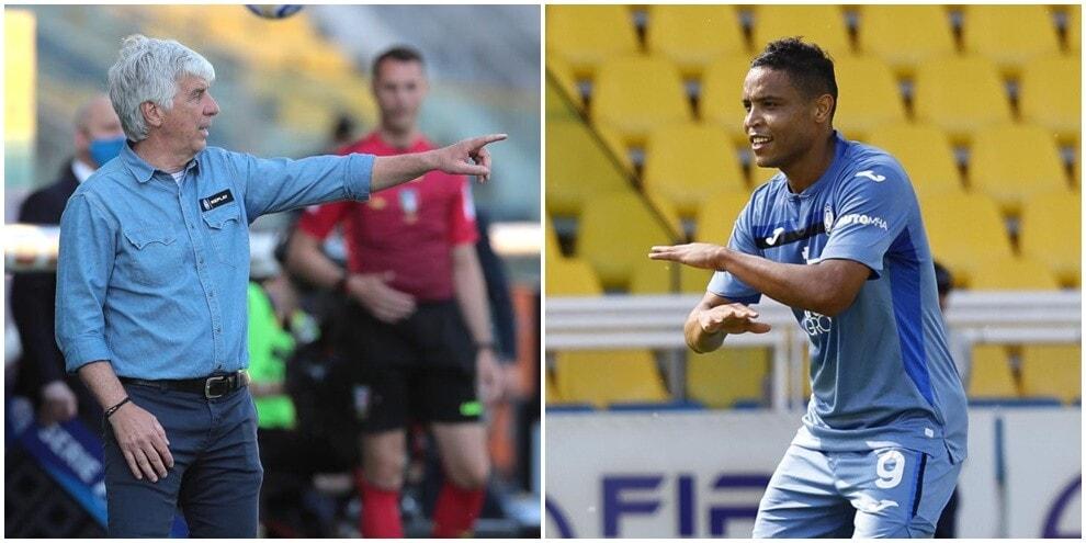 Atalanta in volo con Muriel: 5-2 a Parma e secondo posto