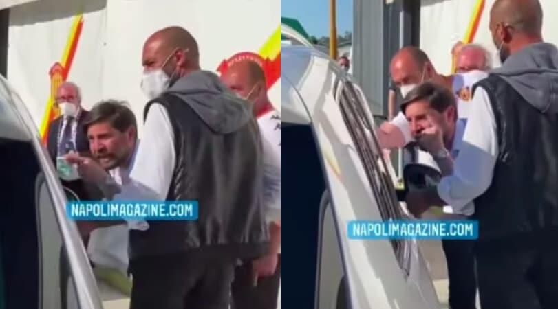 """Benevento, Foggia intercetta Mazzoleni: """"Se hai una coscienza..."""""""