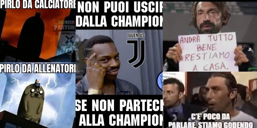 La Juve crolla con il Milan: si scatenano le ironie sui social