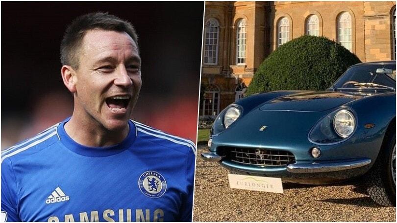 John Terry, passione Ferrari