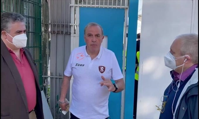 Salernitana, il saluto di Castori al Corriere dello Sport-Stadio