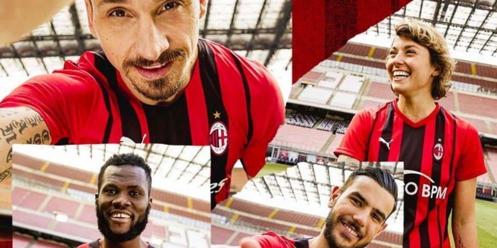 Milan, presentata la nuova maglia 2021/2022