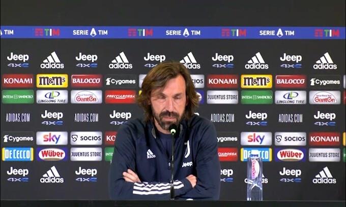 """Pirlo: """"Ronaldo a riposo? Ha giocato tanto.."""""""