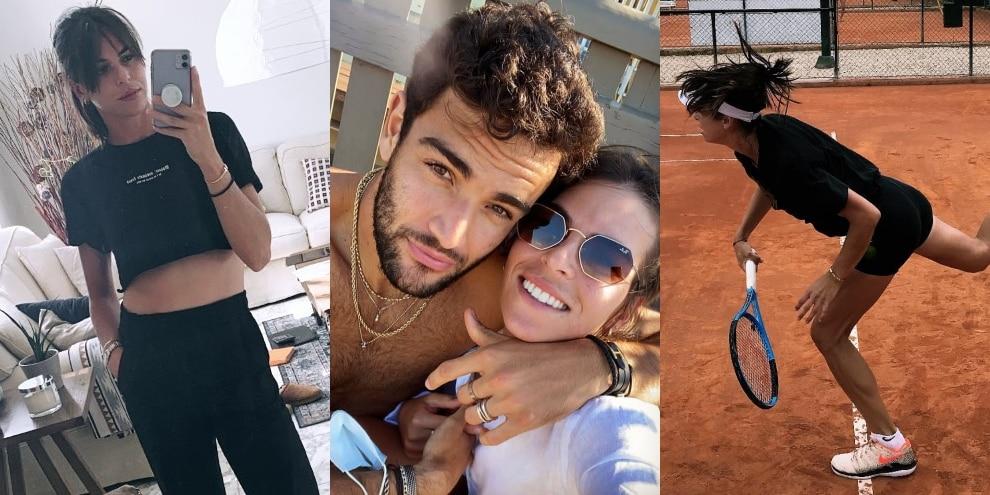 Ajla Tomljanovic e Matteo Berrettini: insieme in campo e fuori