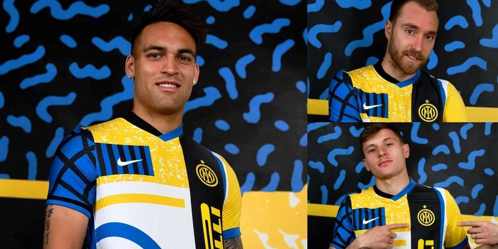 Inter, svelata la quarta maglia: con questa sfiderà la Roma