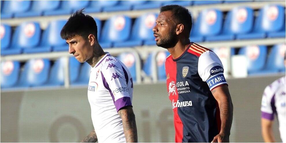 Cagliari-Fiorentina, lo scontro salvezza termina senza reti