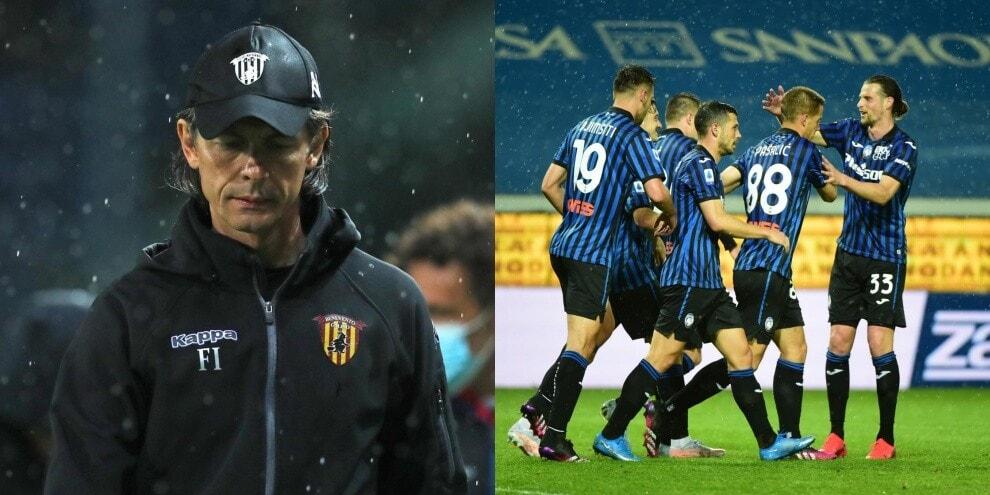 Inzaghi nei guai, Benevento ko contro l'Atalanta